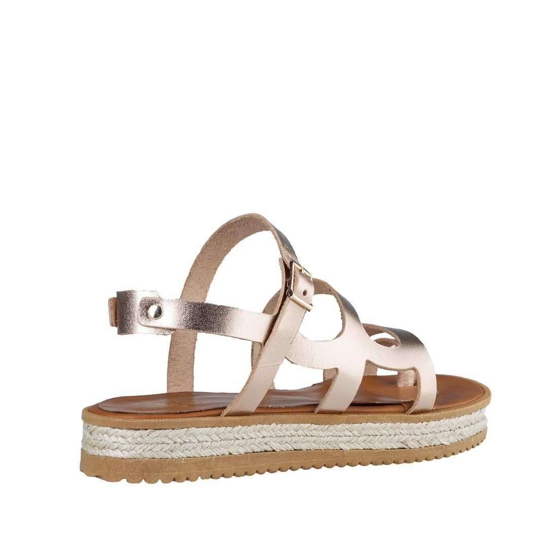 83ef337fe15 Mairiboo by Envie Shoes Γυναικεία Πέδιλα M03-07552-94 Ρόζ Χρυσό ...