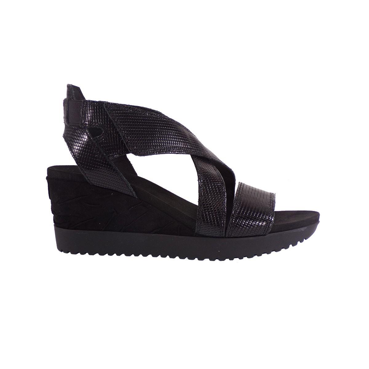 4b507f8b2ed Aerosoles Shoes Γυναικεία Παπούτσια Πέδιλα LETS GO 887282246 Mαύρο Δέρμα