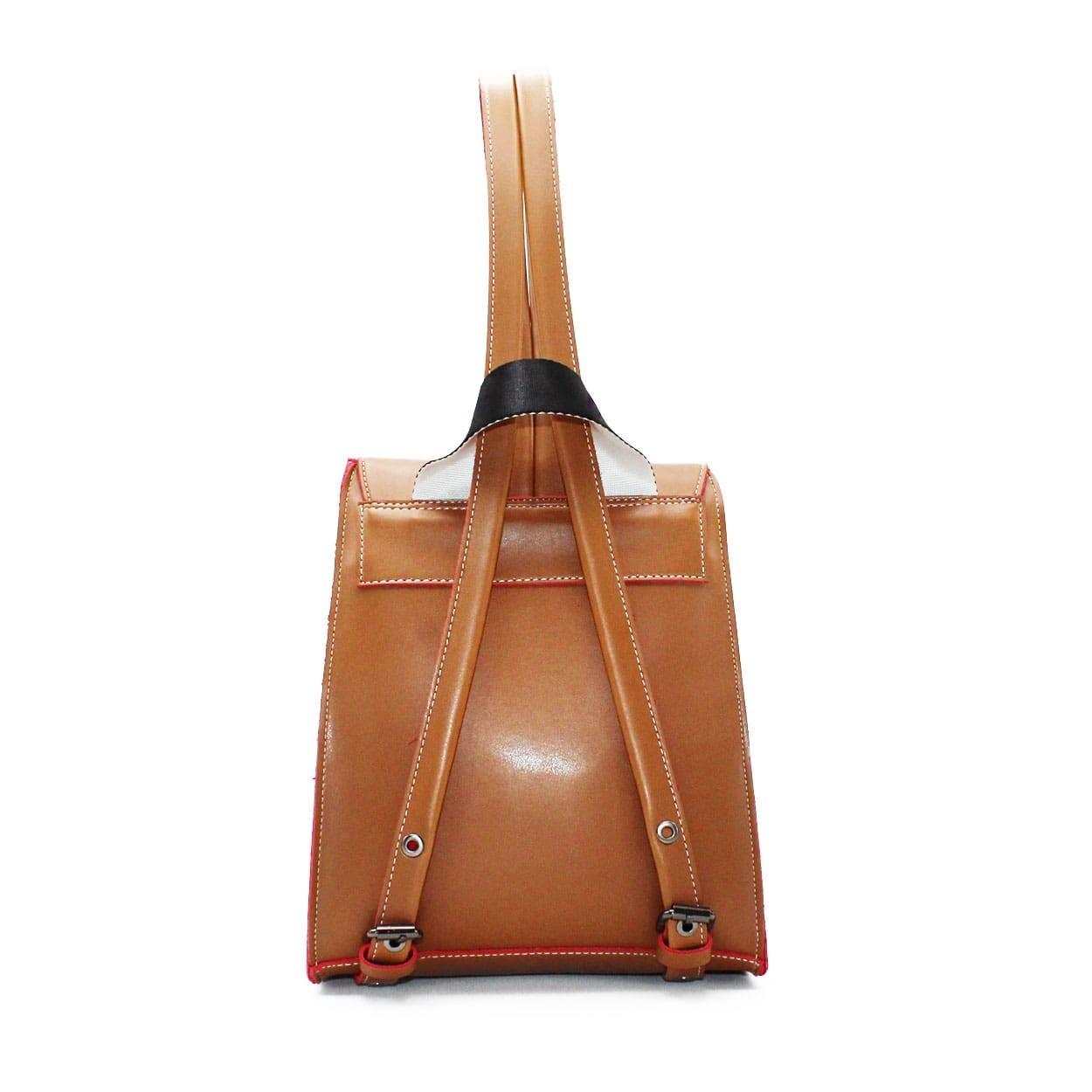d7d864b4c6 FRNC FRANCESCO Τσάντα Γυναικεία Πλάτης-Backpack 1025 Ταμπά – IShoeStore