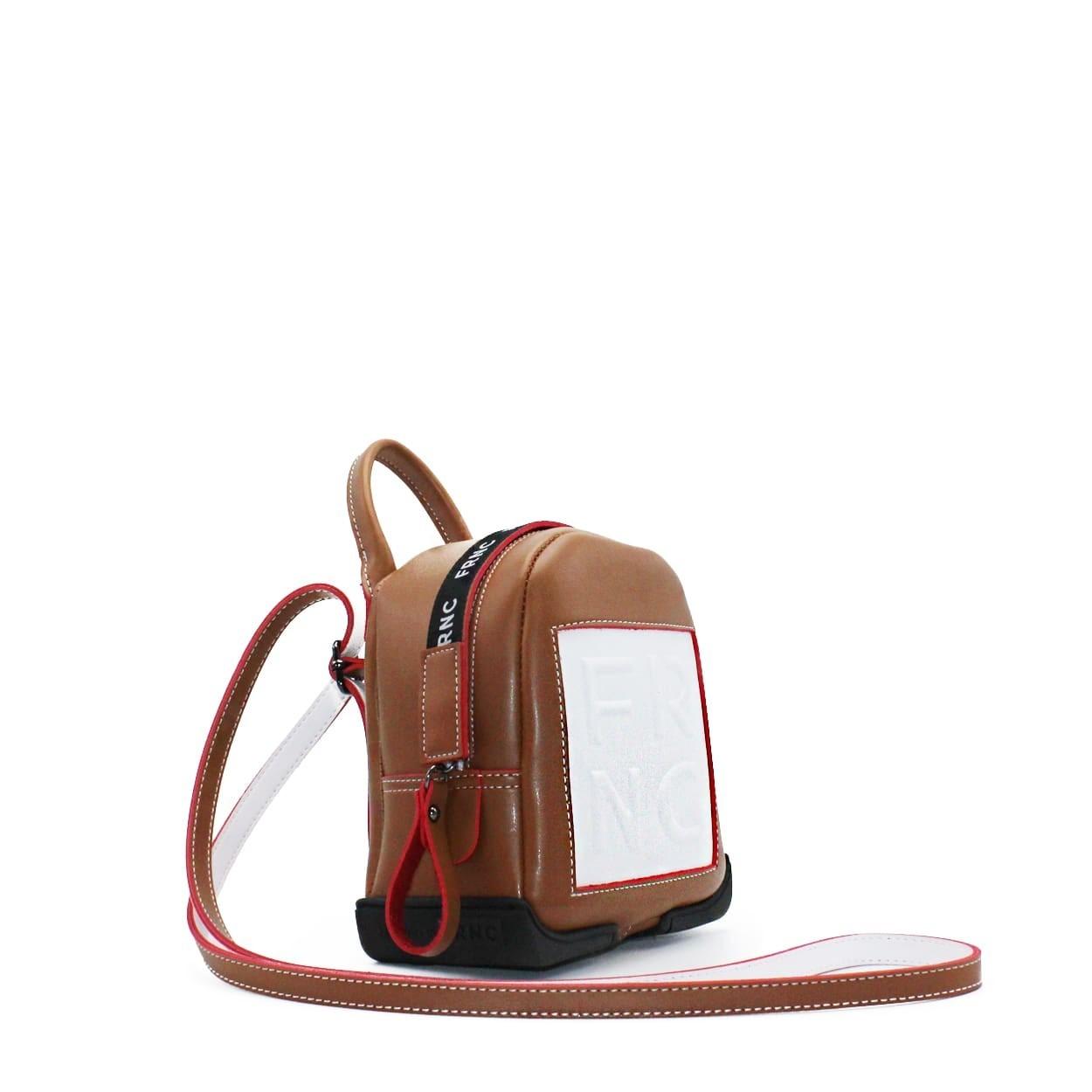 8dbcf72e87 FRNC FRANCESCO Τσάντα Γυναικεία Πλάτης-Backpack 2024 Ταμπά Δέρμα ...