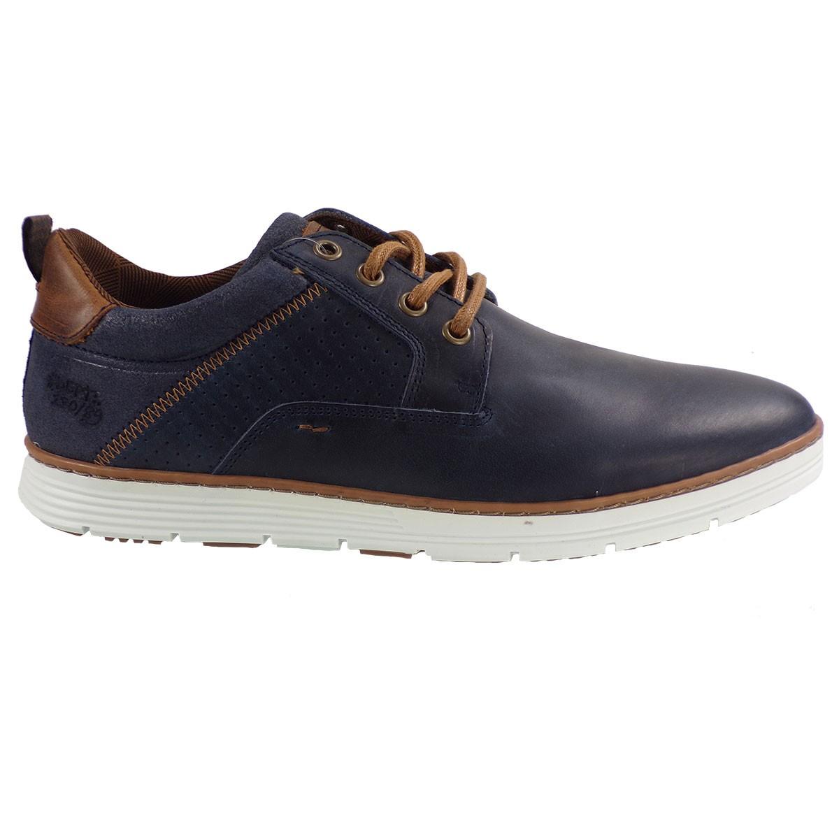 fd244cd3220 Bullboxer Ανδρικά Παπούτσια Sneakers 628K20006 Mπλέ Δέρμα ...