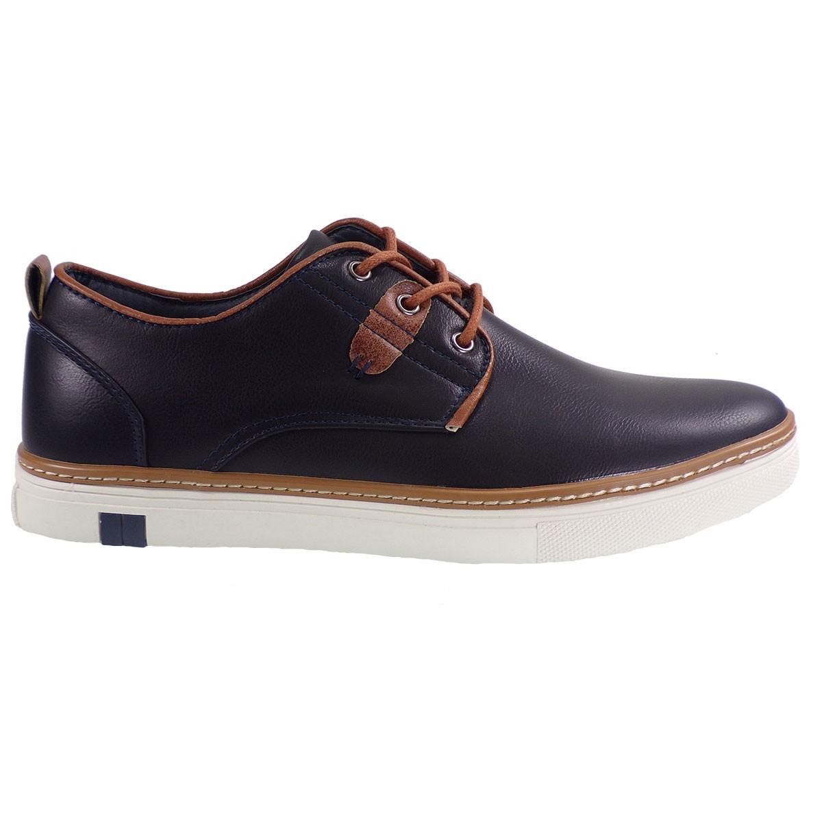 4c0aeaae84b Calgary Ανδρικά Παπούτσια Sneakers Α1001 Μπλέ Ι5700111138F – IShoeStore