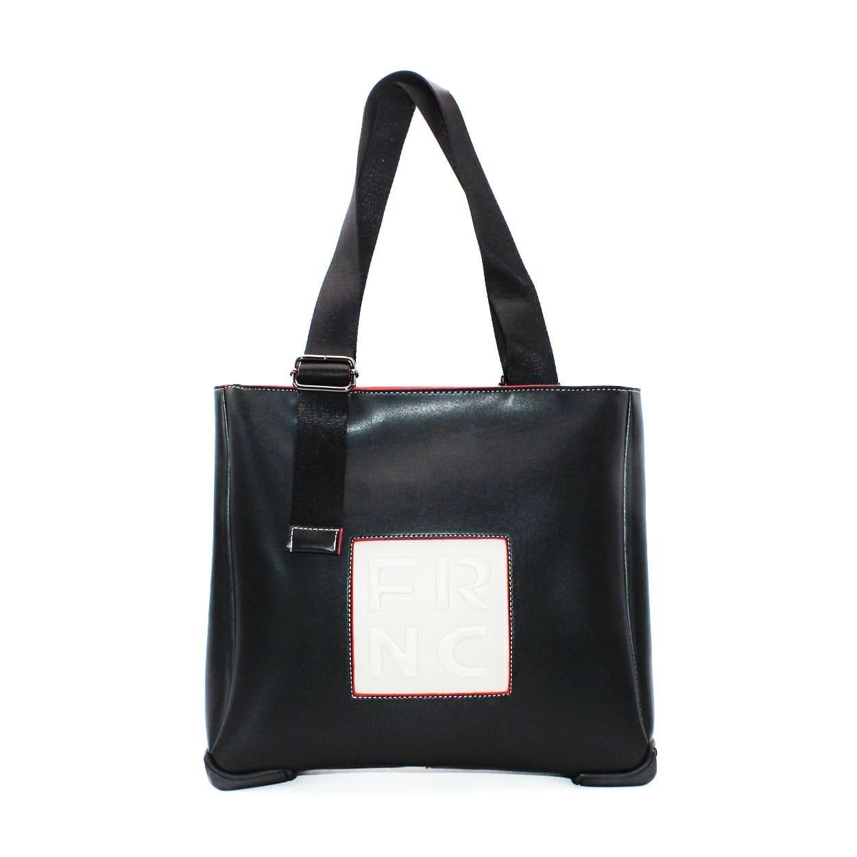 a2a11e6bed FRNC FRANCESCO Τσάντα Γυναικεία Ώμου 2020 Μαύρο Δέρμα – IShoeStore