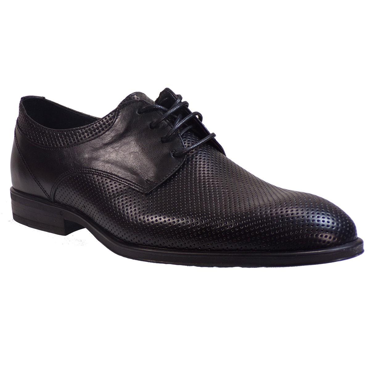 3bdcc999d8d kricket Ανδρικά Παπούτσια 600Λ Μαύρο Δέρμα – IShoeStore