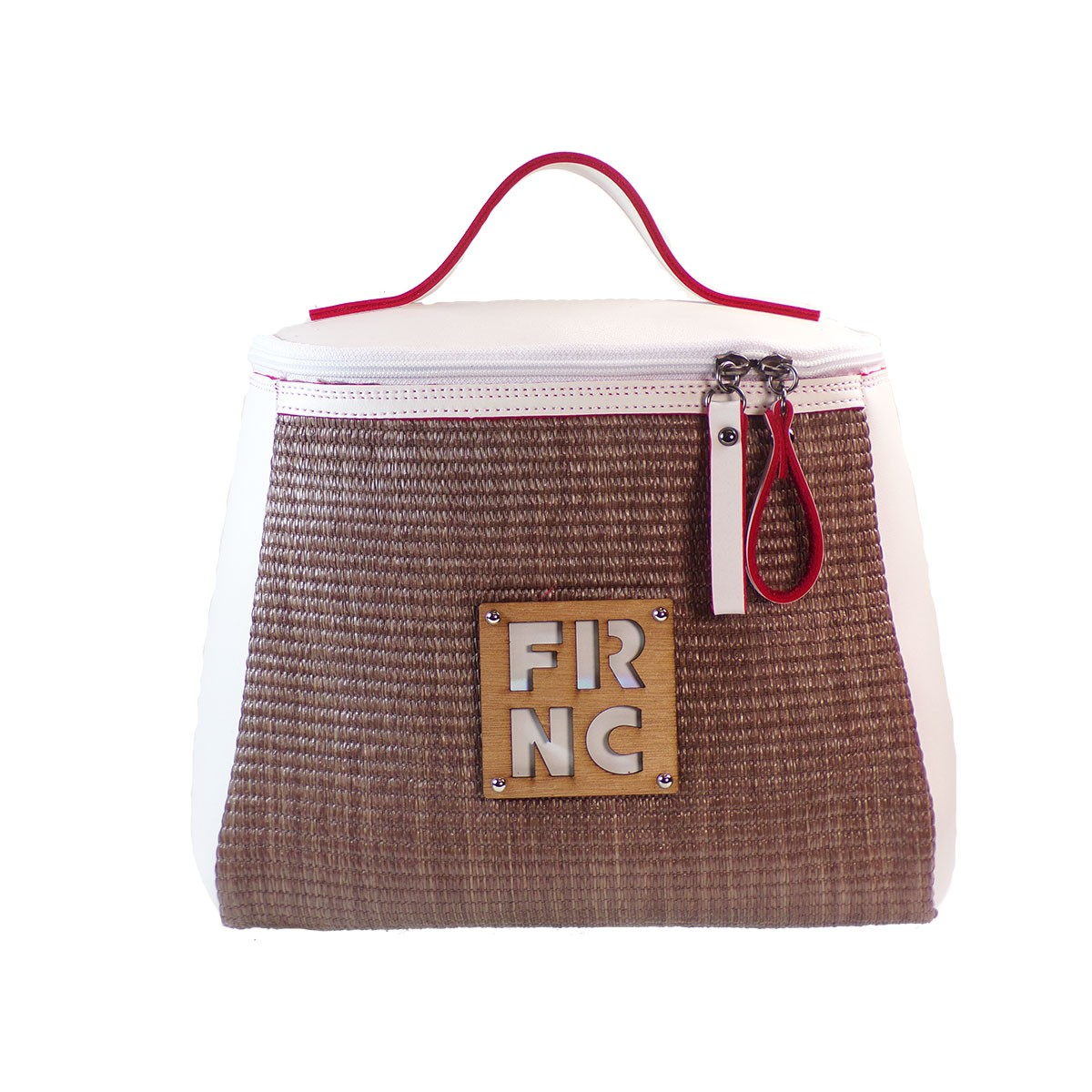 eab0e7a5a0 FRNC FRANCESCO Τσάντα Γυναικεία Πλάτης-Backpack-Ώμου 1290 Οff White Ψάθα –  IShoeStore